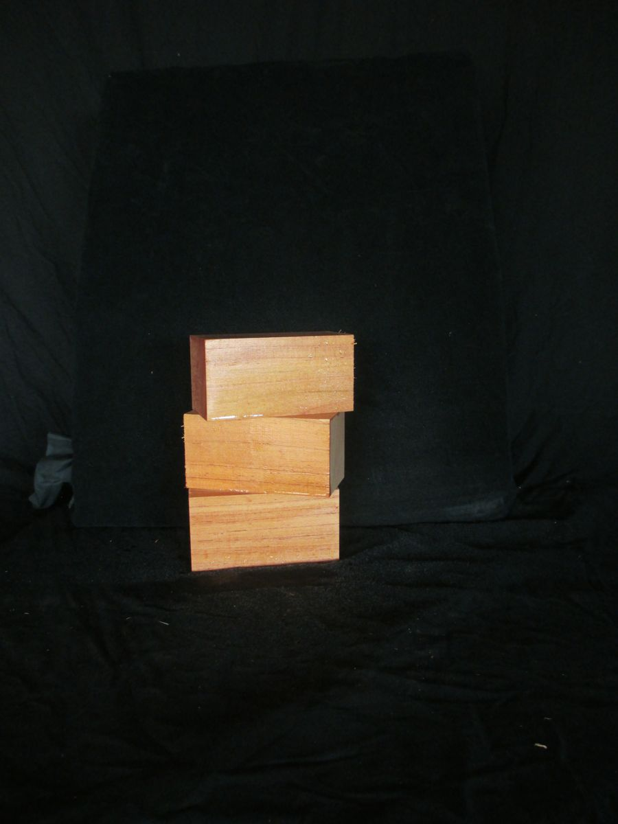 Guitar Heel Blocks Red Cedar