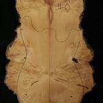 huon pine electric guitar cap top 8