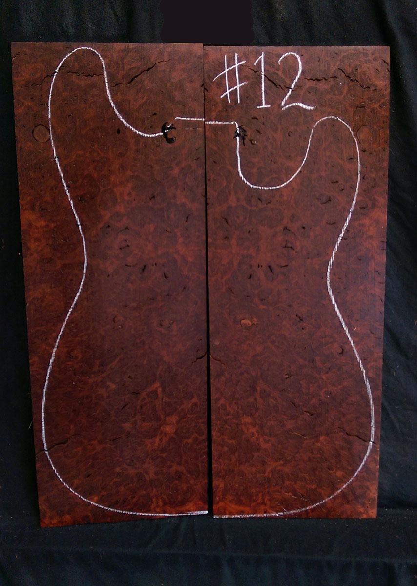 jarrah electric guitar cap 12