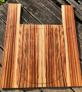 Musical instrument timber