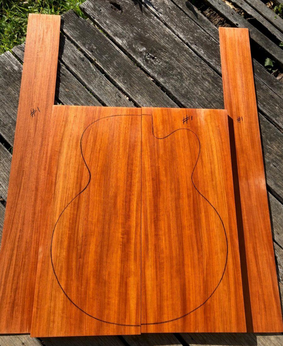 Archtop guitar timber