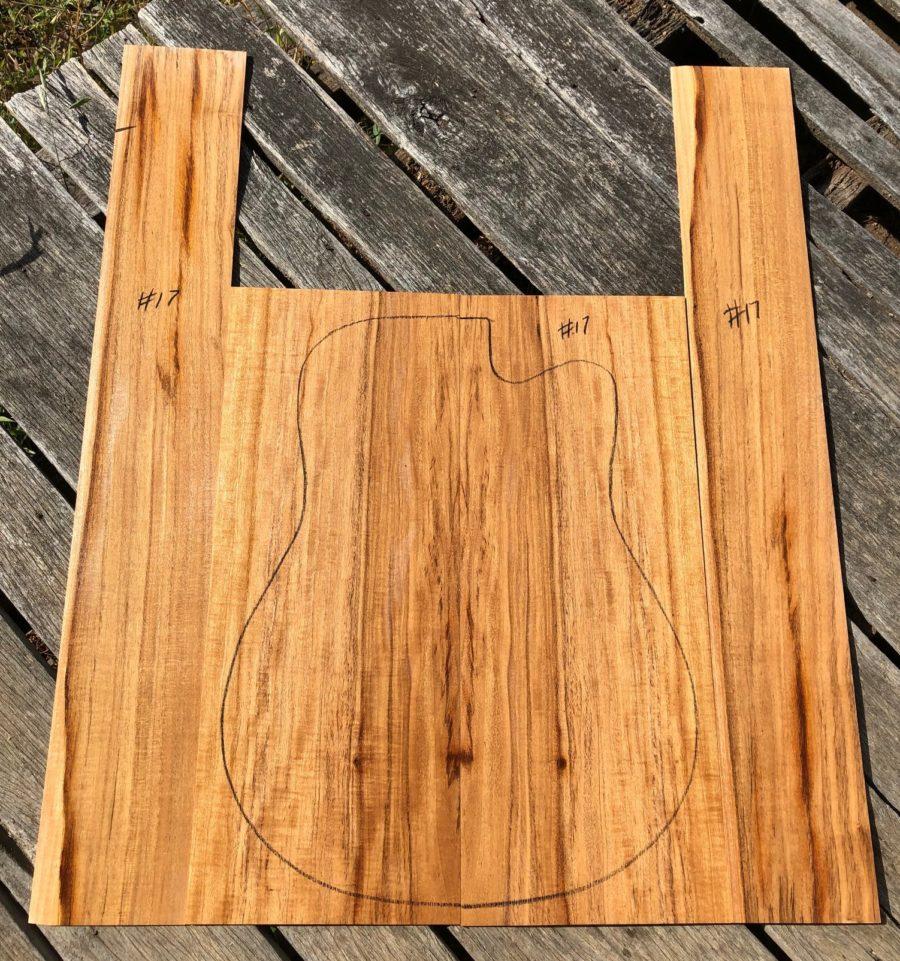 Quarter sawn back and sides