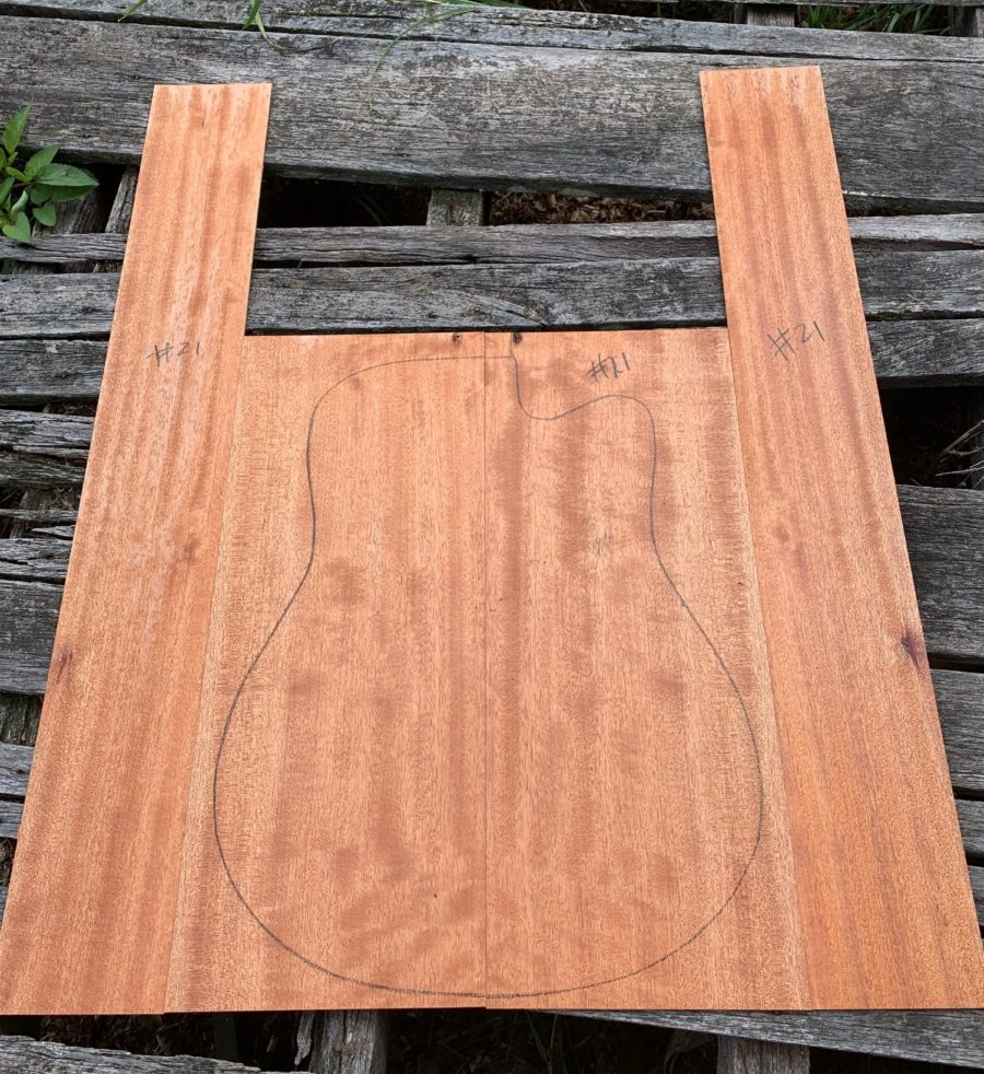 Instrument timber for luthiers