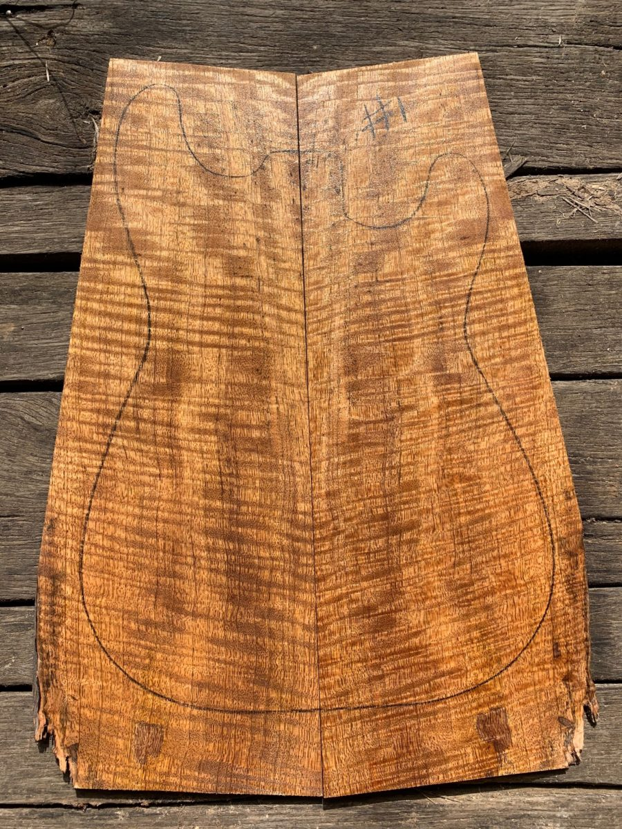 Mango instrument timber