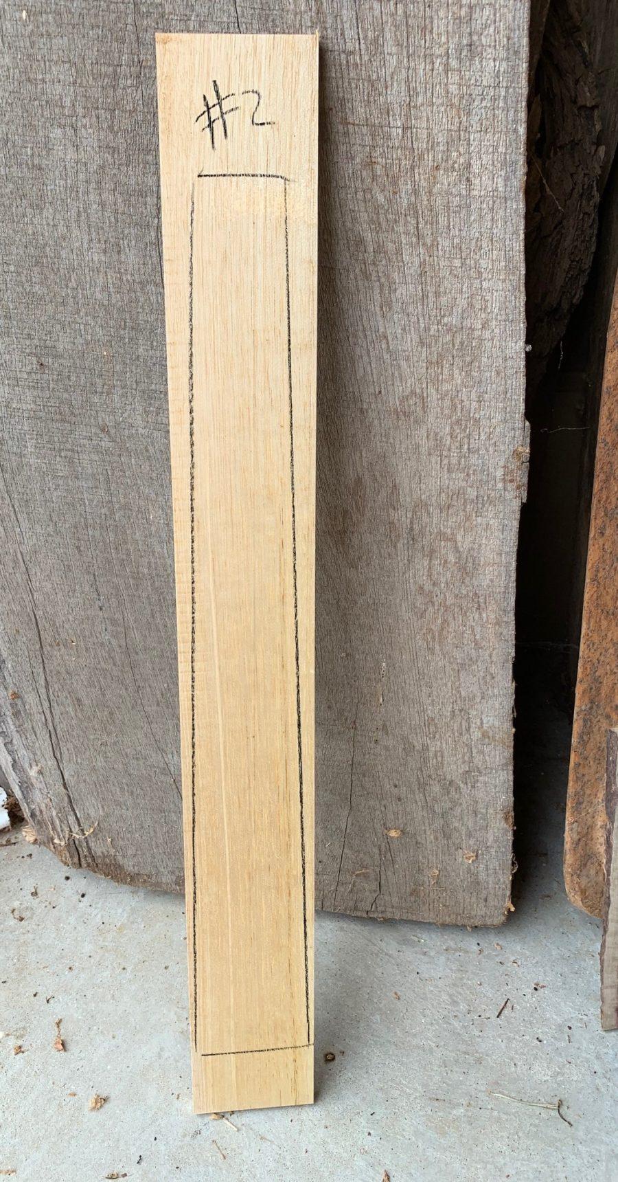 Silver Ash Fretboard