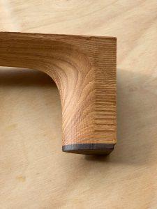 Acoustic guitar heel