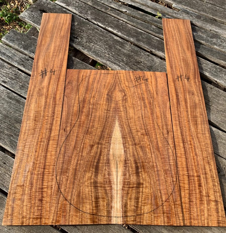 Quarter sawn Tasmanian Blackwood