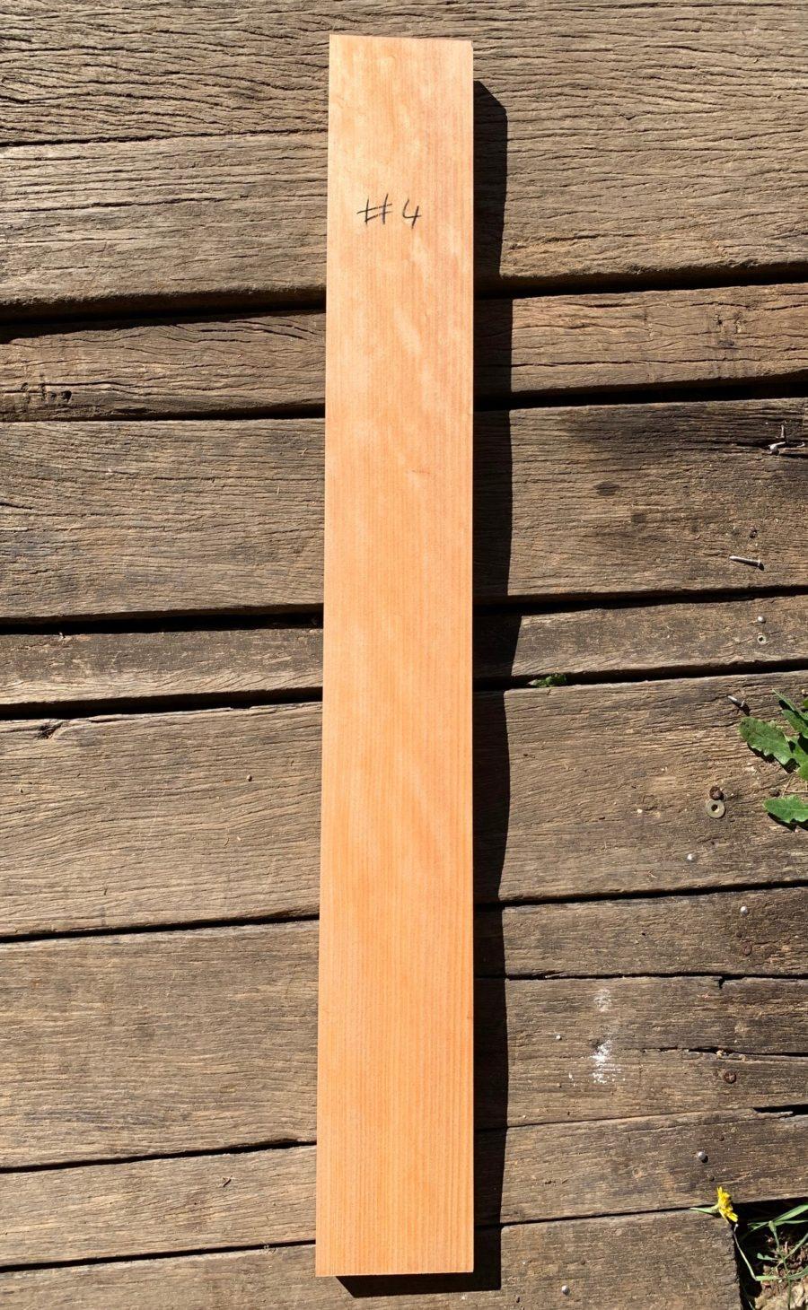 Quarter sawn tonewood