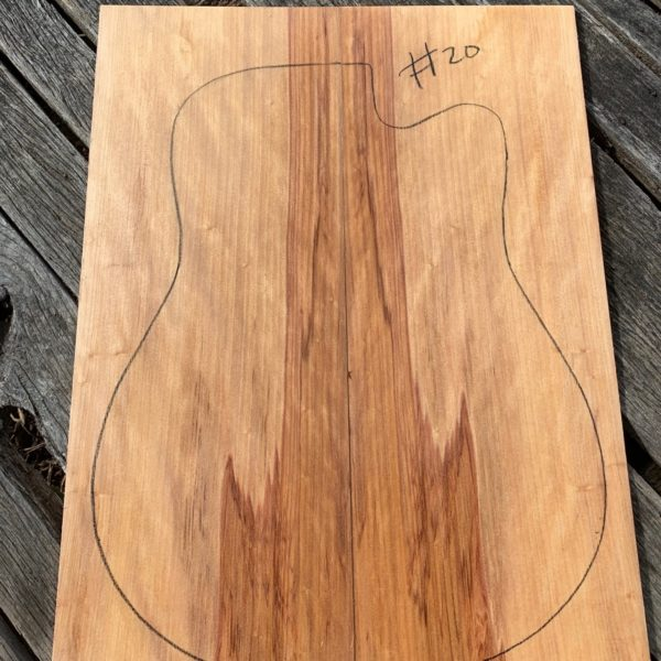 Australian instrument timber for guitar making