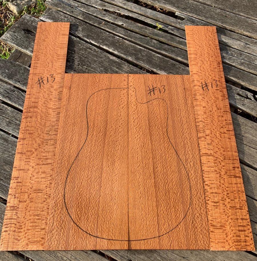 Acoustic guitar back & sides