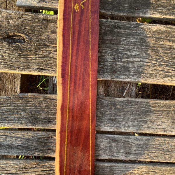 Purple Gidgee Fretboard