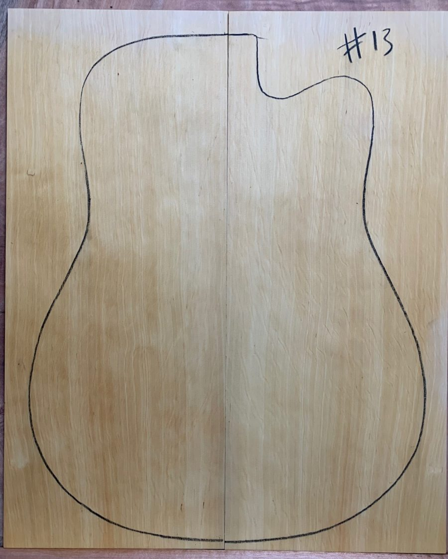 Instrument timber for guitar making