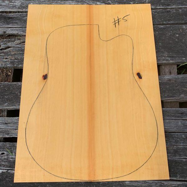 Tasmanian instrument timber