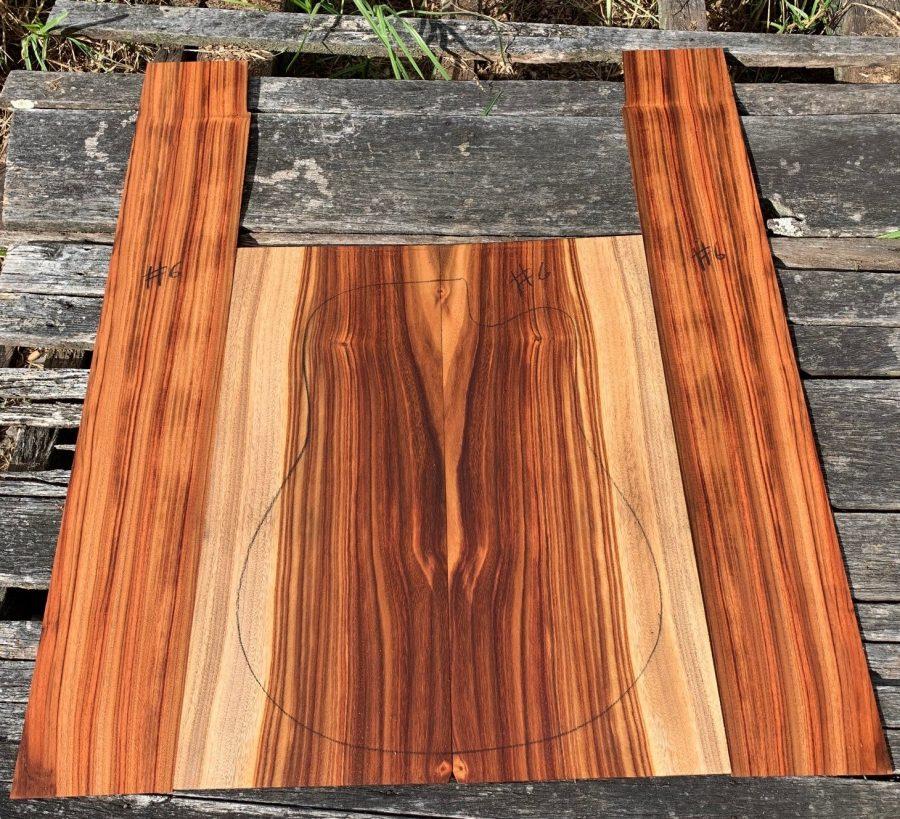 Quarter sawn book matched pair