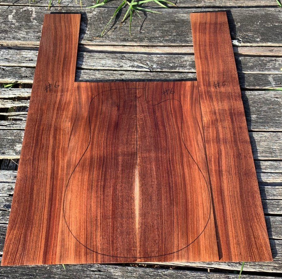 Quarter sawn instrument timbers