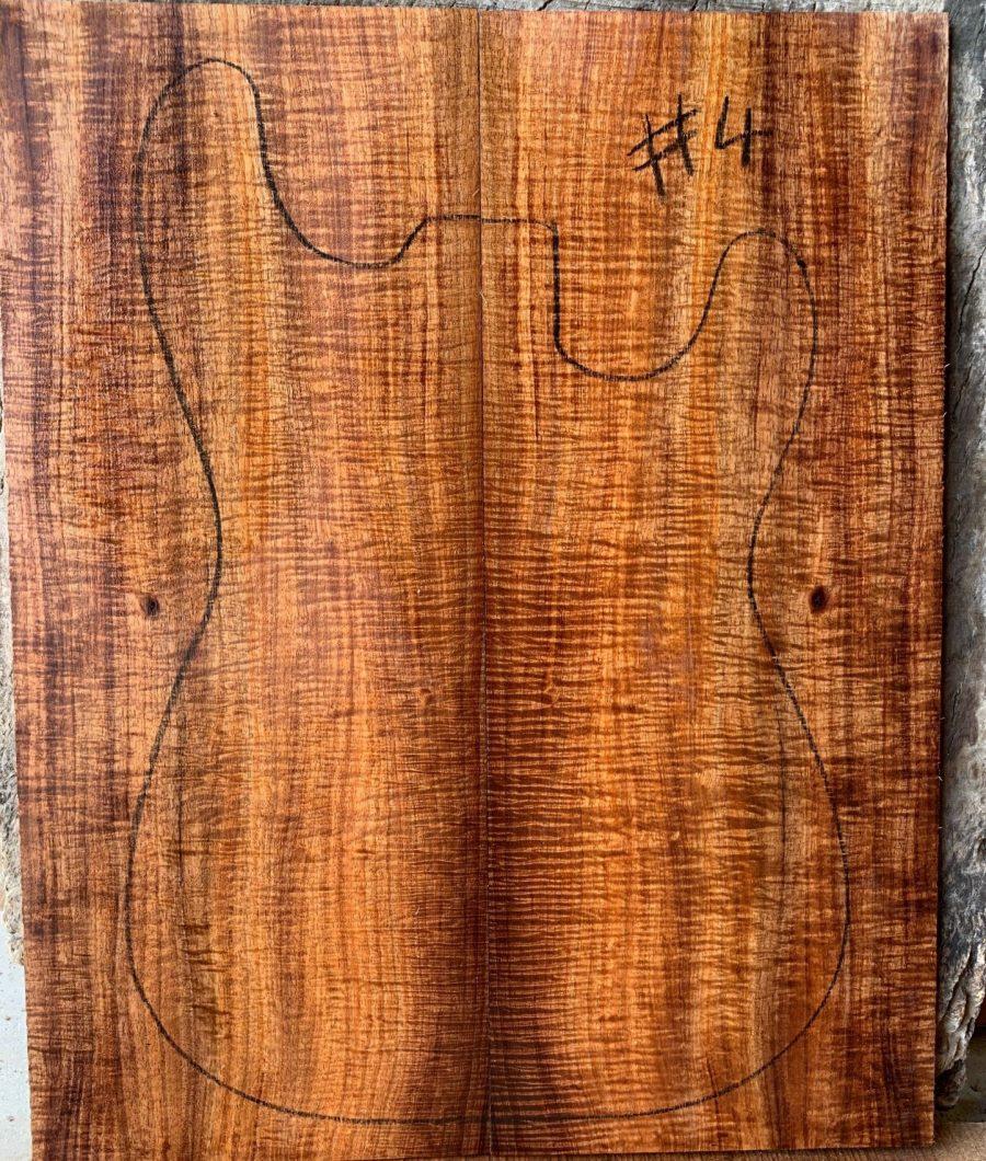 Electric guitar timber