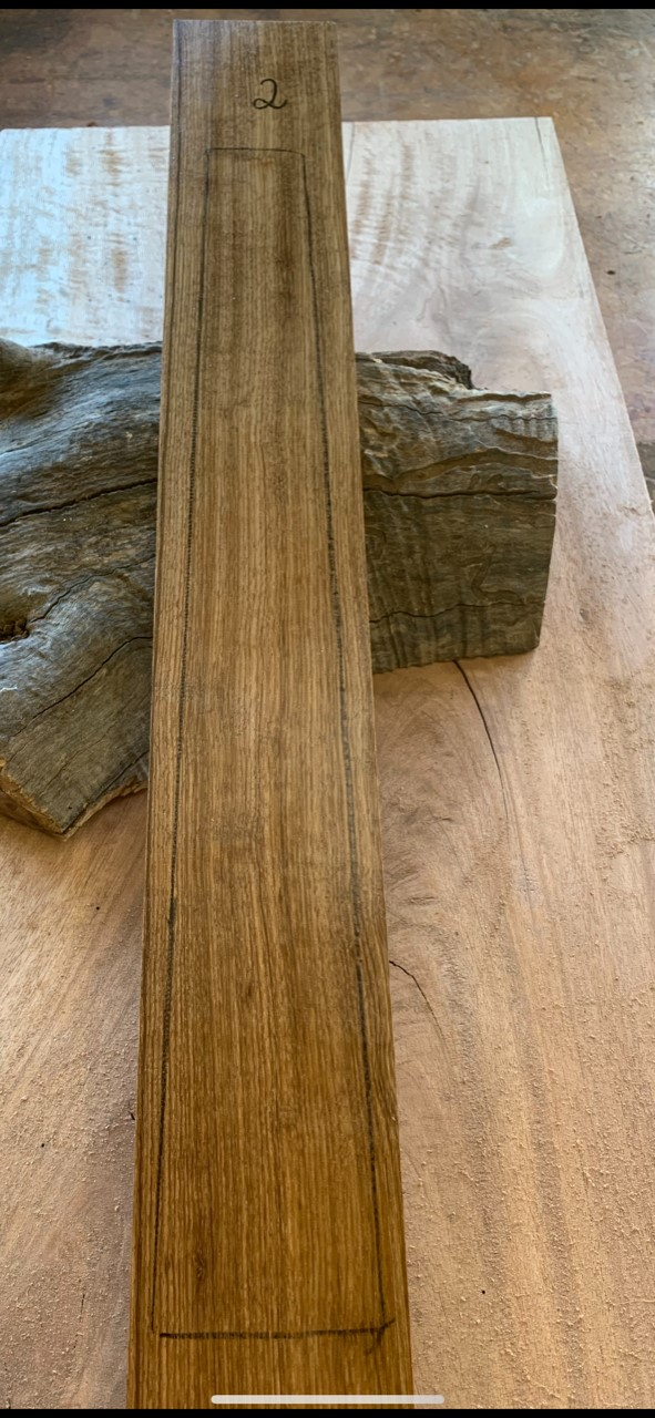 Instrument timber for lutherie