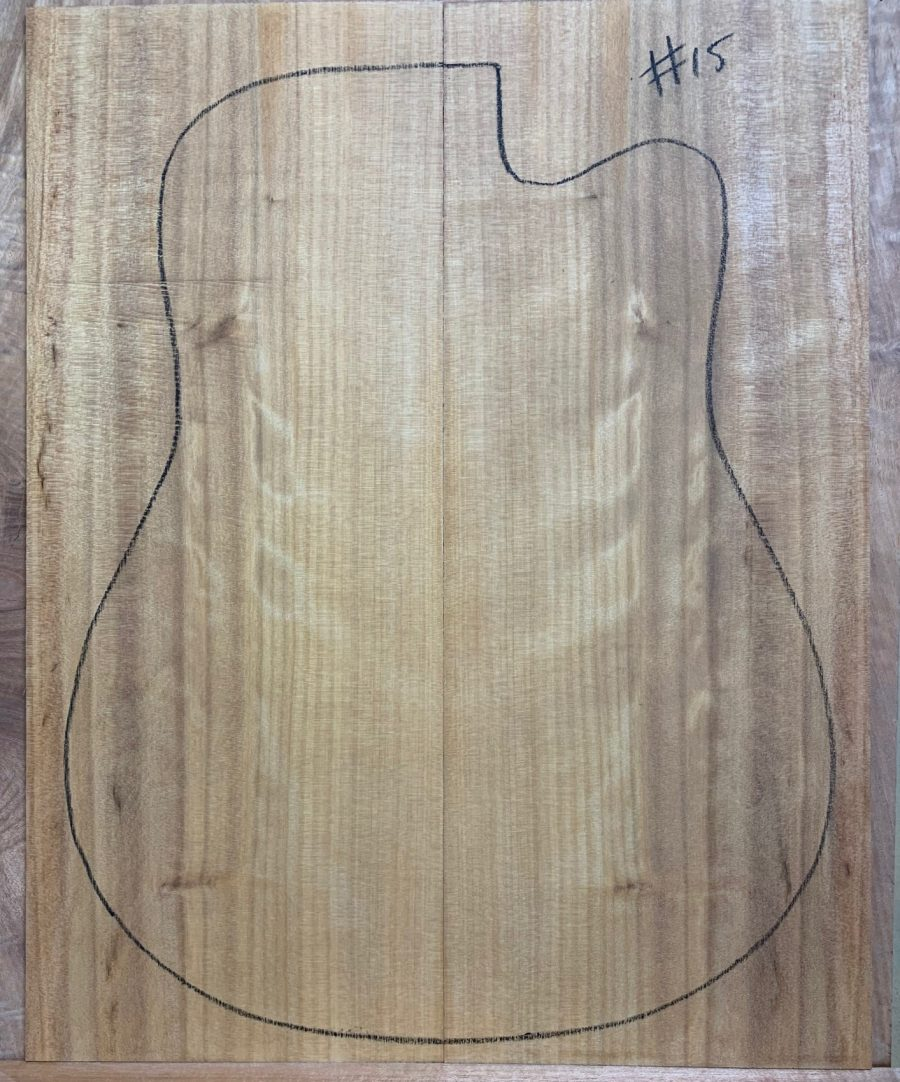 Wood for guitar making