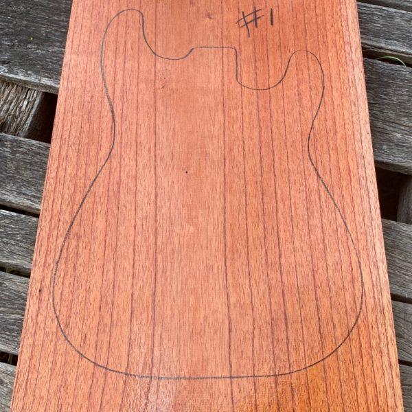 Tonewood for guitar making