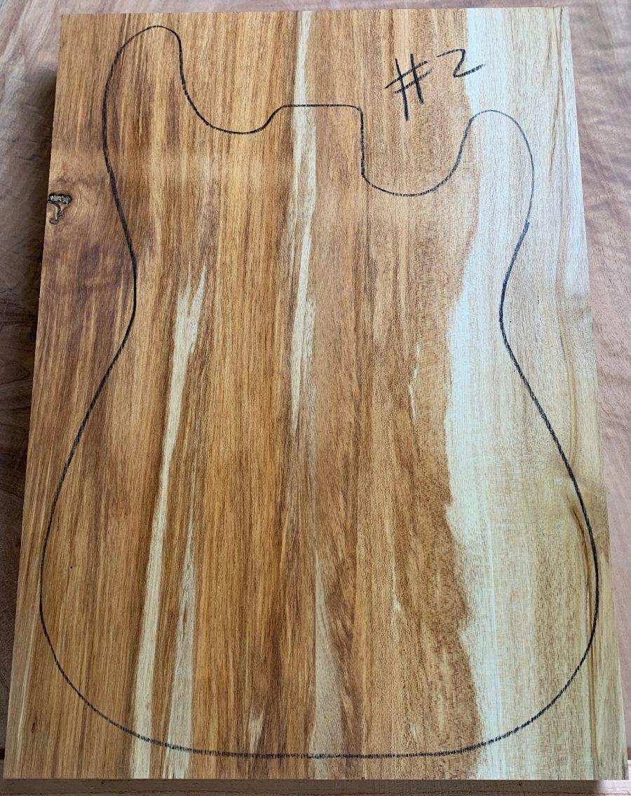 Australian instrument timber for guitar making