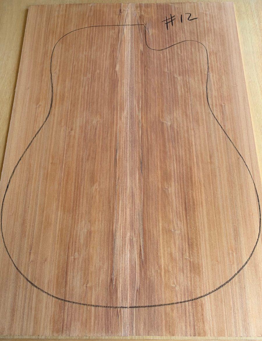 Soundboard for acoustic guitar making