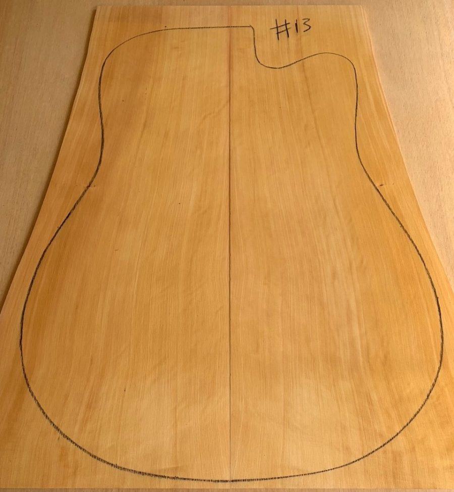 Huon Pine Acoustic Top