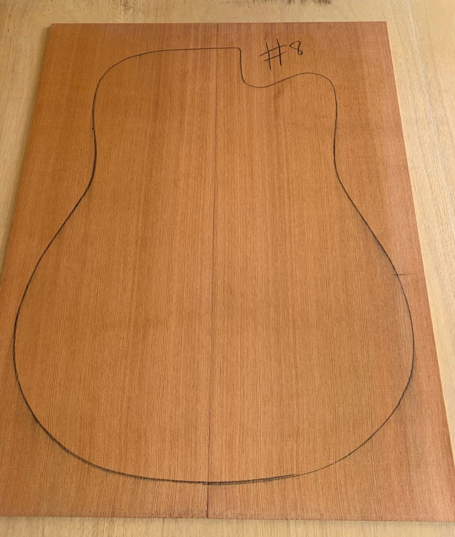 King Billy Pine Acoustic Guitar Top