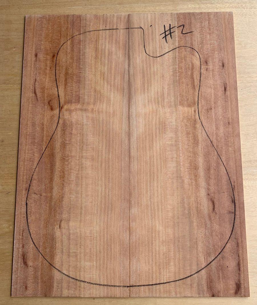 Acoustic guitar tonewood