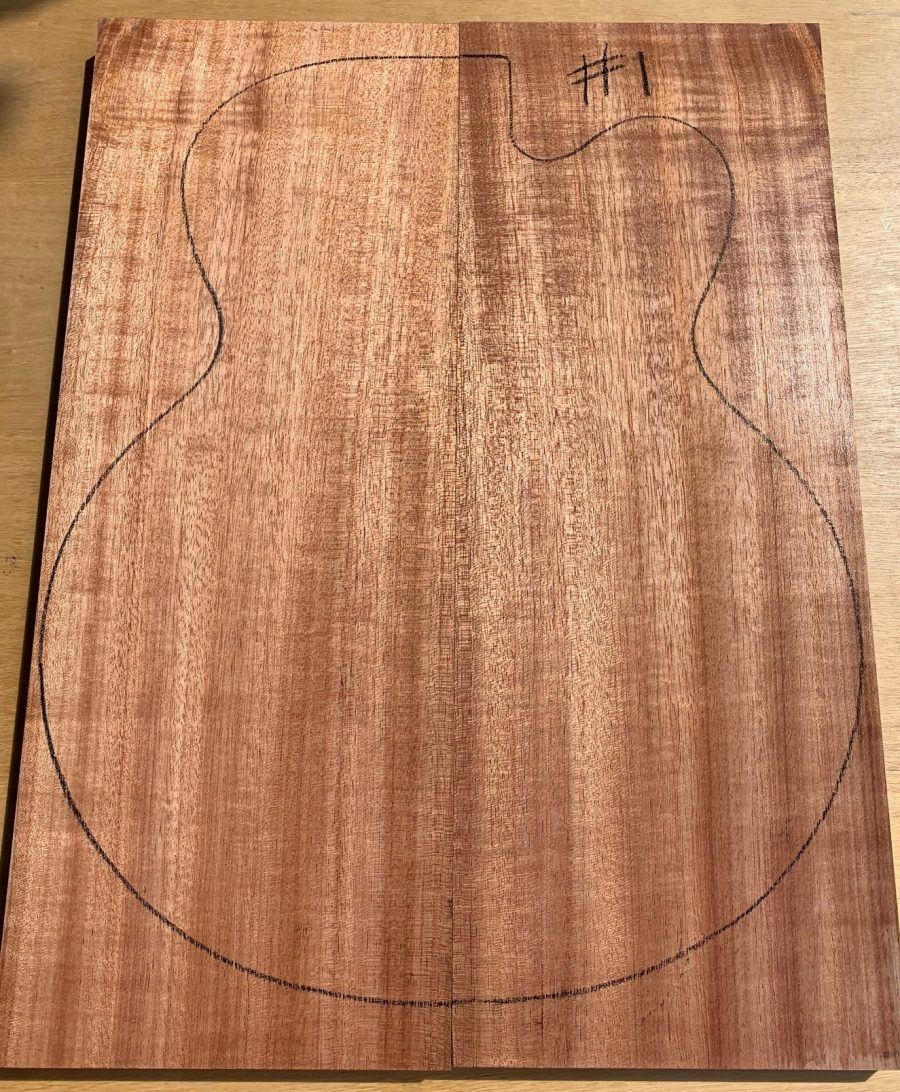 Archtop instrument timber