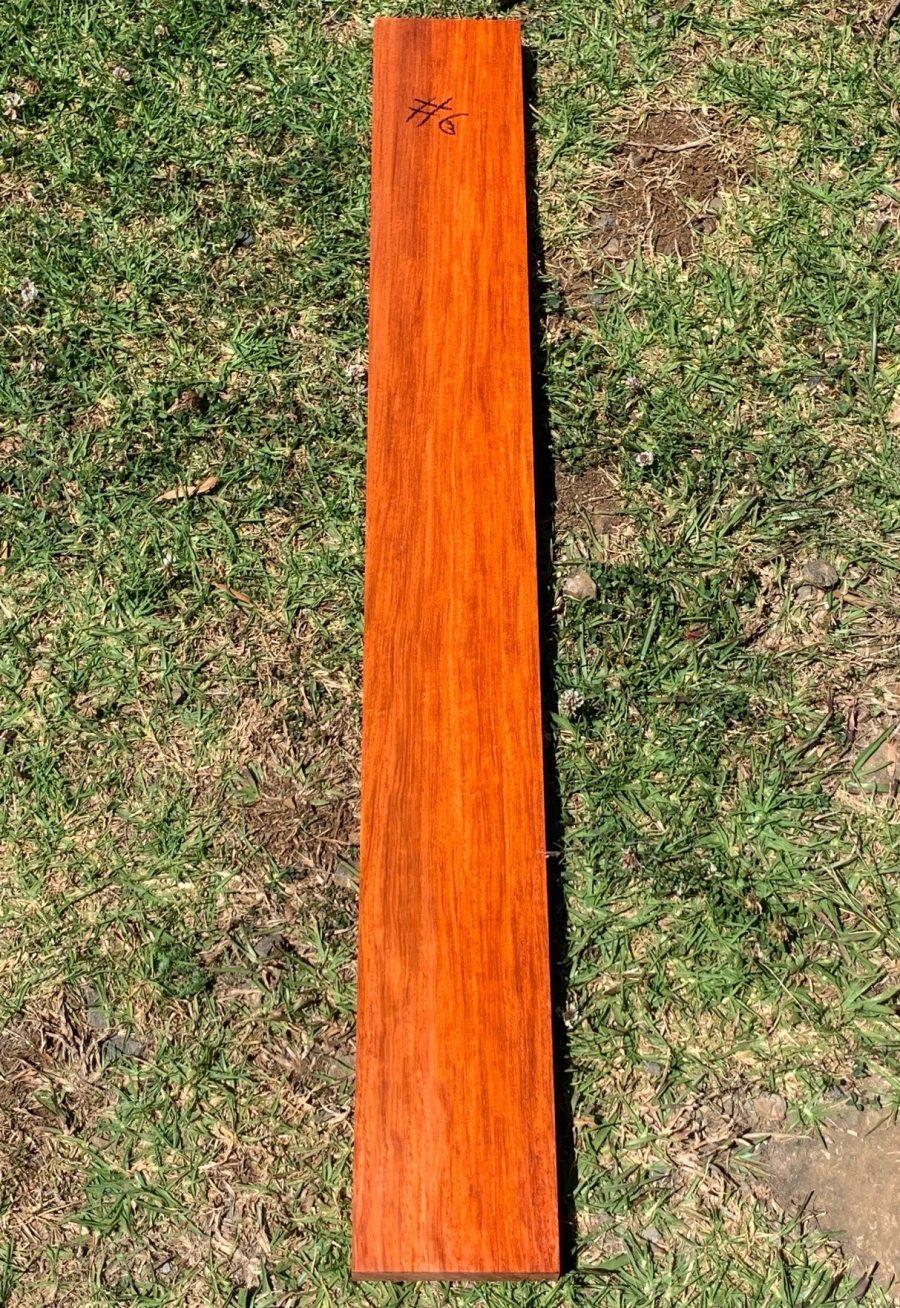 Guitar neck material
