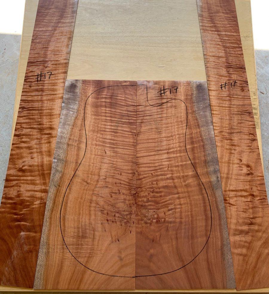 Acoustic guitar wood supplies